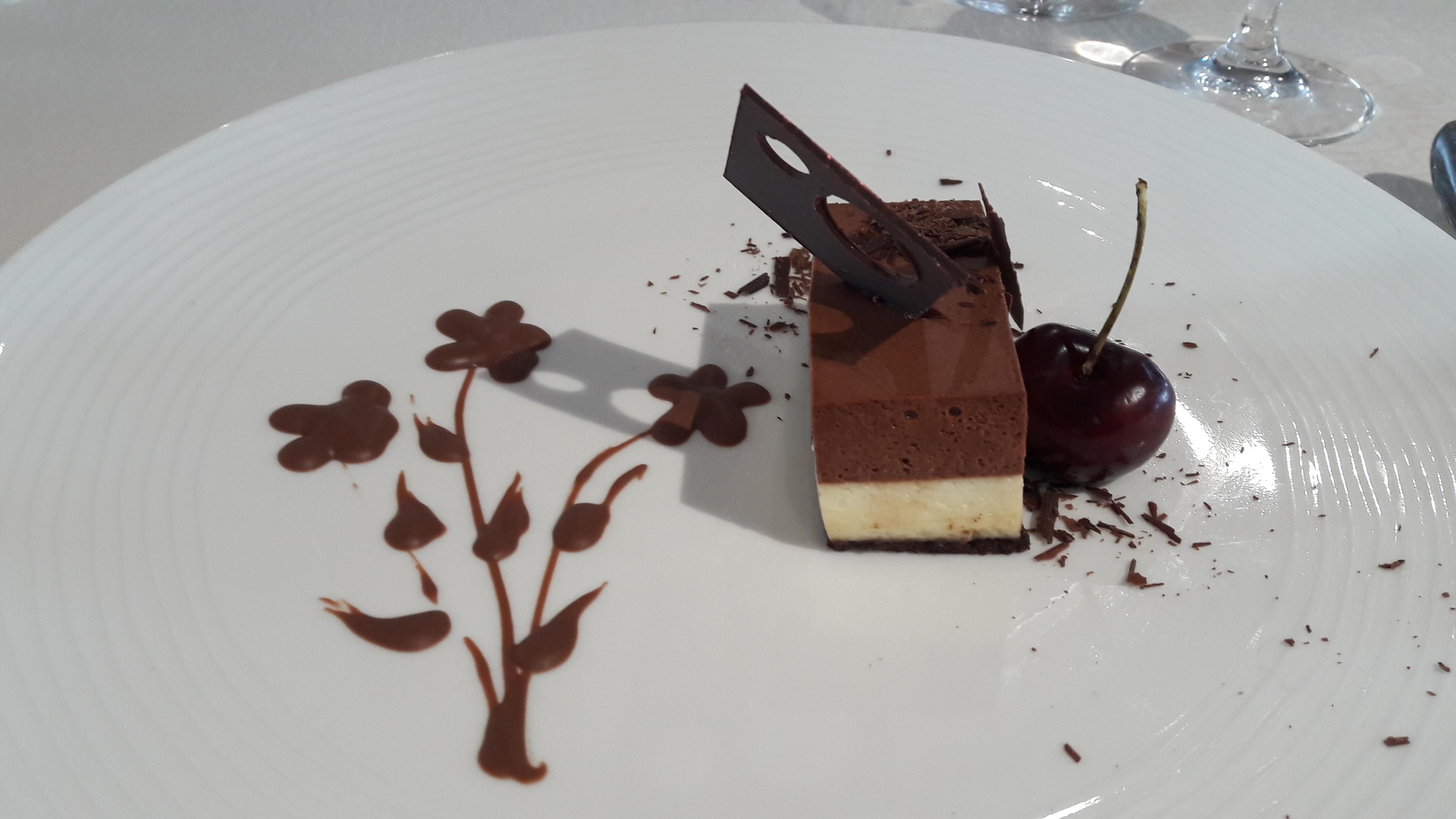 Dessert aboard the Silver Explorer