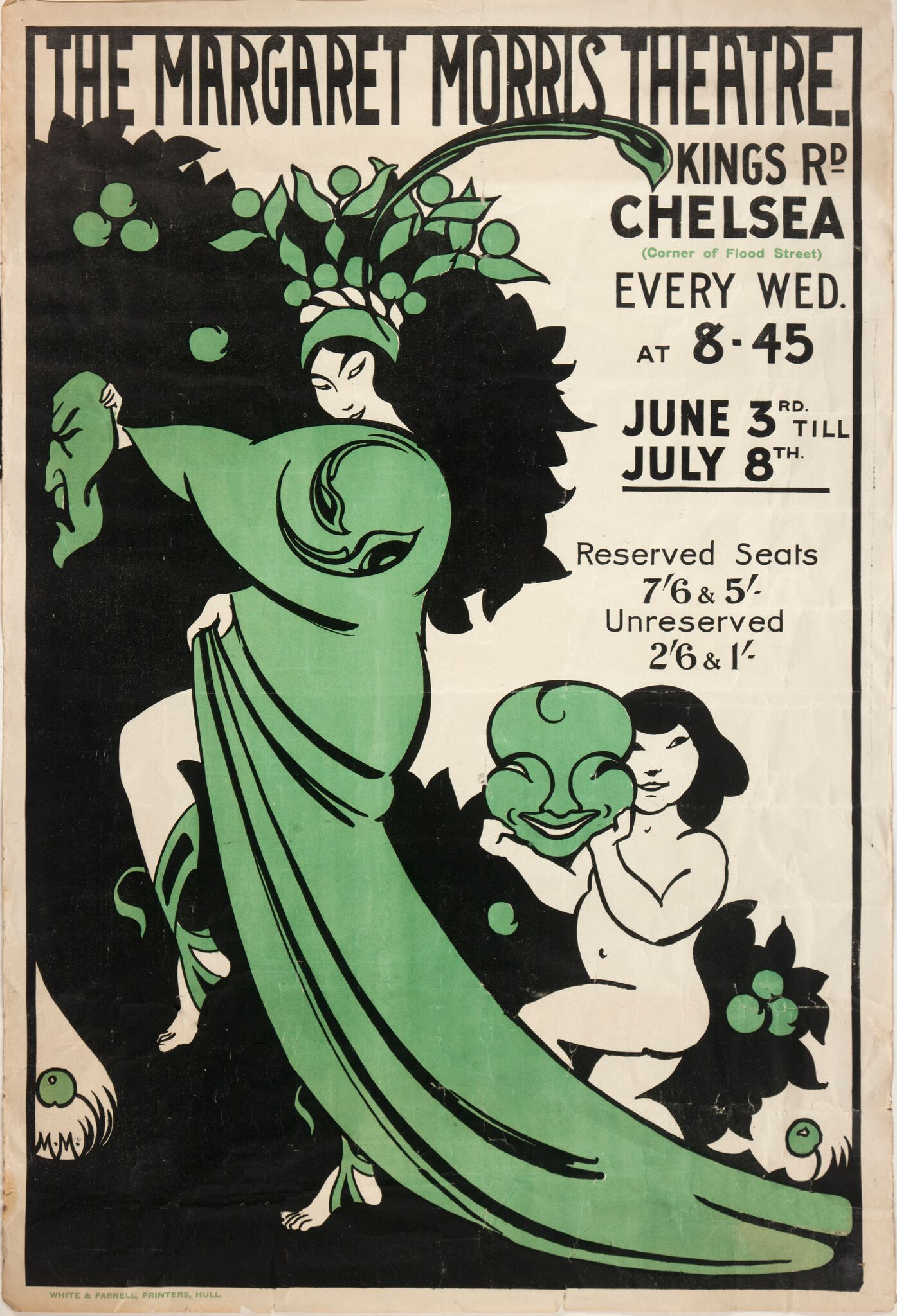 Margaret Morris poster