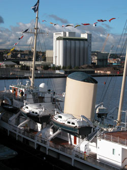 Britannia-at-Leith-Docks