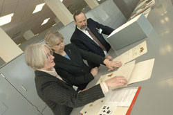 Opening of herbarium extension