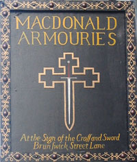 at the sign of the cross and the sword