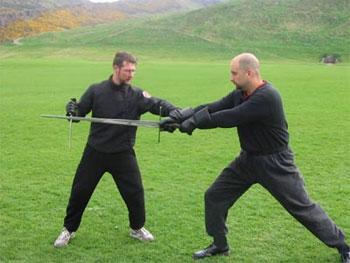 swordsmanship at Holyrood Park