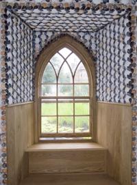 window in pavilion